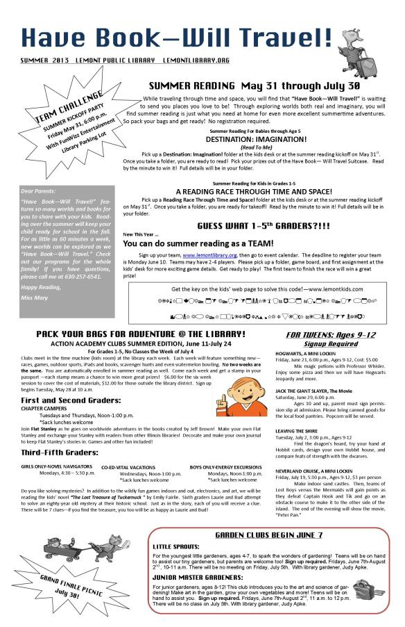 SCHOOL FLYER FOR WEBSITE