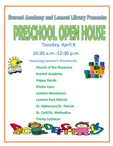 Preschool Open House 2014