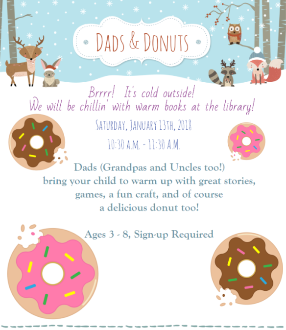 dads and donuts Jan 2018