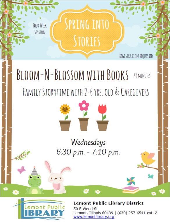 BloomNBlossom with Books April 2018