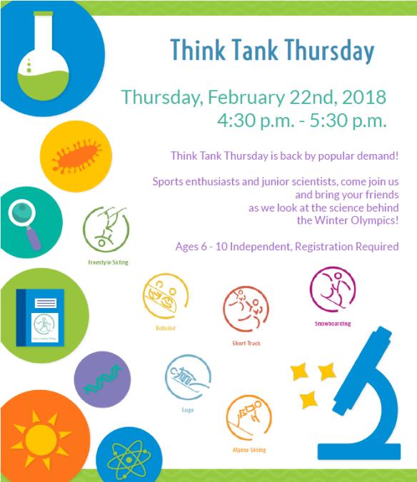 think tank thursday 2_22_18
