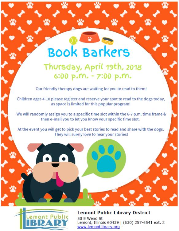 April Book Barkers 4_19_18