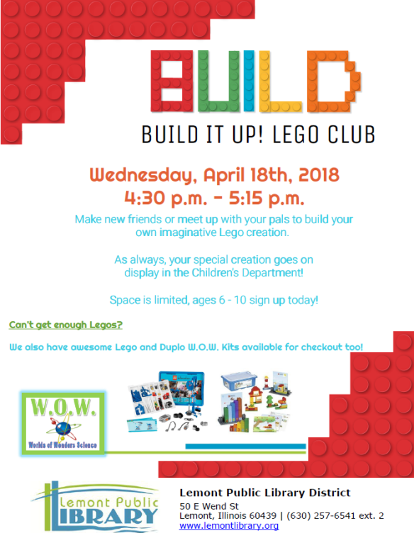 April Lego Club 4_18_18