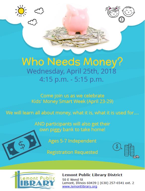 April Who Needs Money 4_25_18