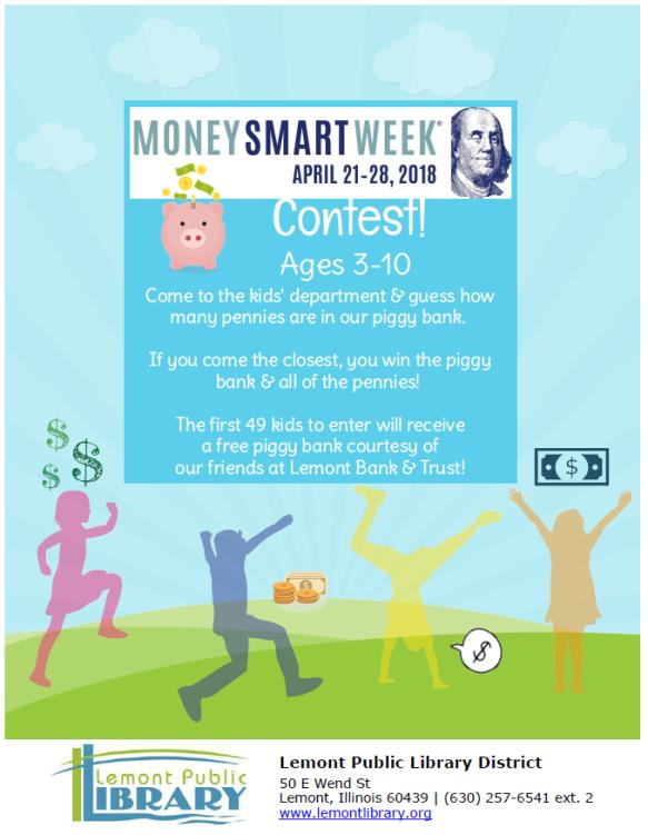 money smart week april 2018 4_21 thru 4_28
