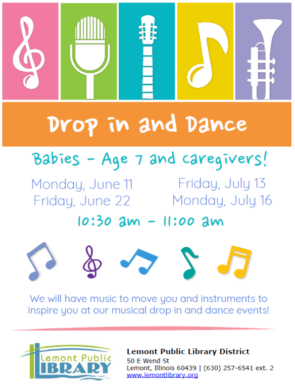 Drop in and Dance Summer 2018