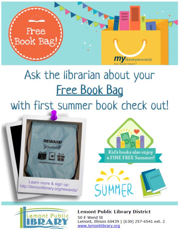 Free BOOK bag