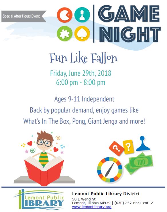Fun Like Fallon June Summer 2018