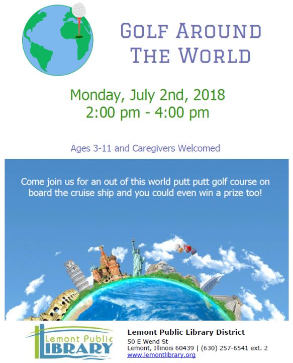 Golf Around the World July Summer 2018