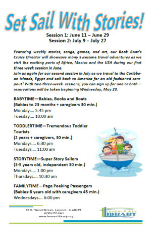Storytime Flyer May