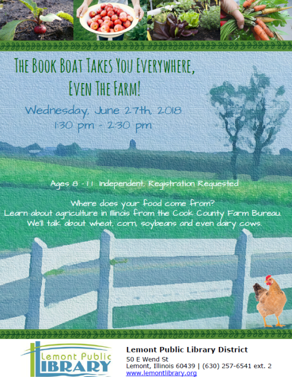 The Book Boat Takes You Everywhere Even The Farm JUNE Summer 2018