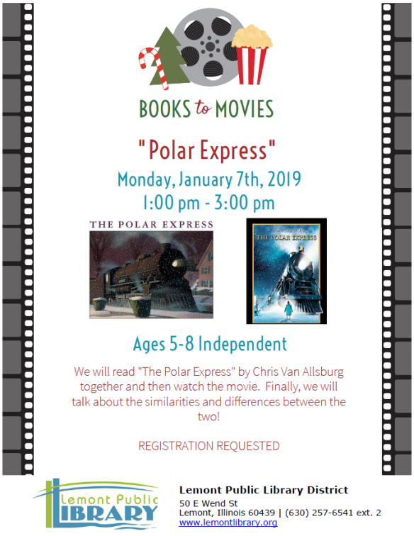 1_7_19 Books to Movies Polar Express