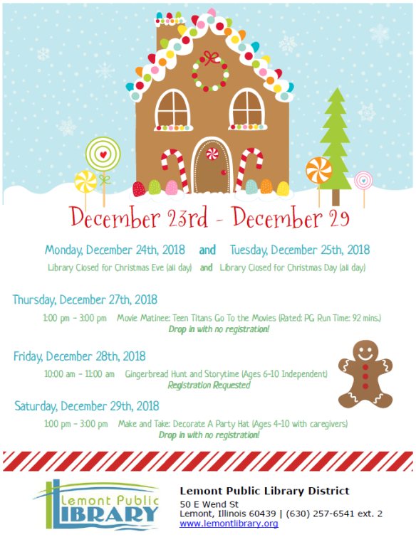 December Week 4 Door Flyer