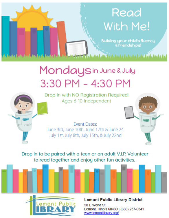 Read With Me Mondays June & July