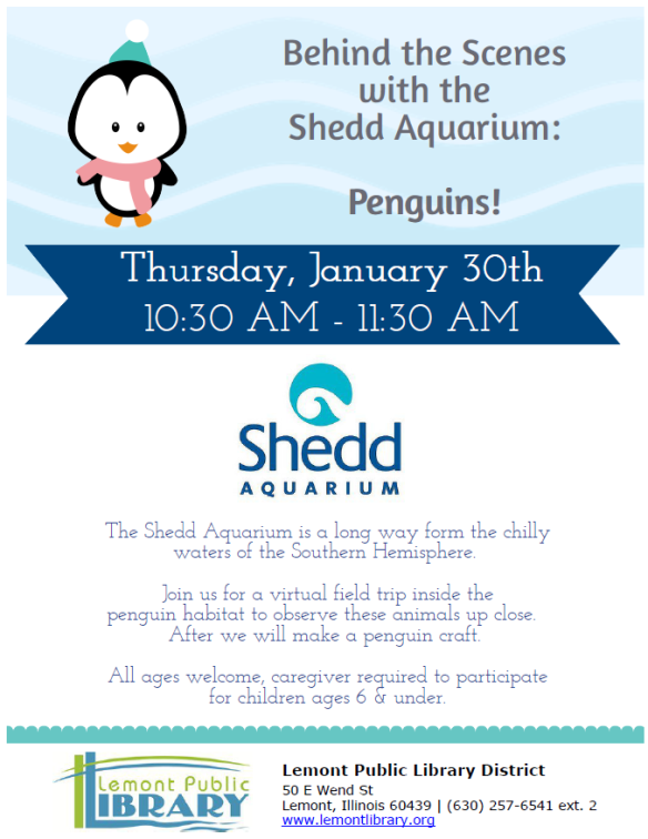 1_30_20 THE shedd penguins