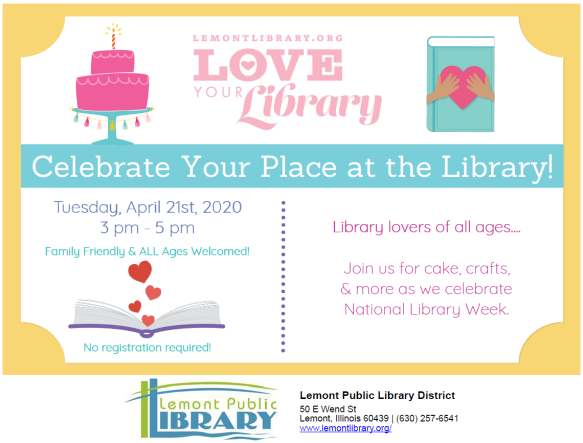 4_21_20 Celebrate Your Place at the Library
