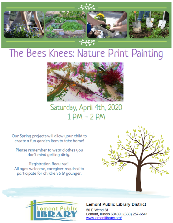 4_4_20 Bees Knees Nature Painting
