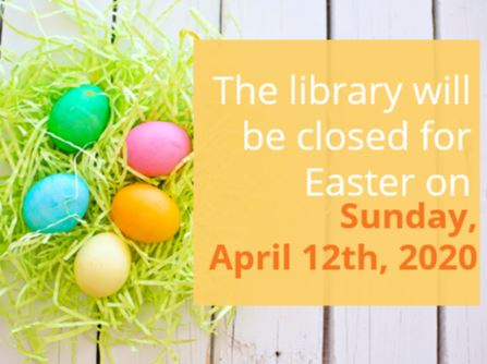 Closed for Easter 4_12_20