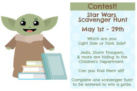 MAY star wars contest